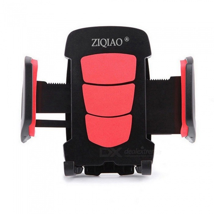 ZIQIAO Rotatable Car Air Vent Mount GPS Phone Bracket - RedGPS Holders<br>Form  ColorRed + BlackModelN/AQuantity1 DX.PCM.Model.AttributeModel.UnitMaterialABSApplicable ProductsIPHONE 5,IPHONE 4,GPS,OthersAdjustable HeightFixedAdjustable Width:5 ~ 10cmRotation360 DX.PCM.Model.AttributeModel.UnitMax. Load2.5 DX.PCM.Model.AttributeModel.UnitPacking List1 x Holder<br>