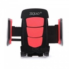 ZIQIAO Rotatable Car Air Vent Mount GPS Phone Bracket - Red