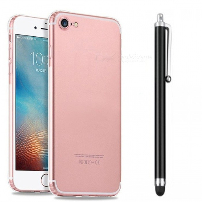 SZKINSTON Shockproof TPU Case with Capacitive Pen for IPHONE 7 / 7S