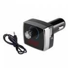 Bluetooth 4.2 Hands Free Car Kit 3.5mm AUX MP3 Player