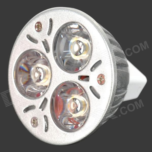 MR16 3W 3-LED 270-Lumen 3200K Warm White Light Bulb (12V)