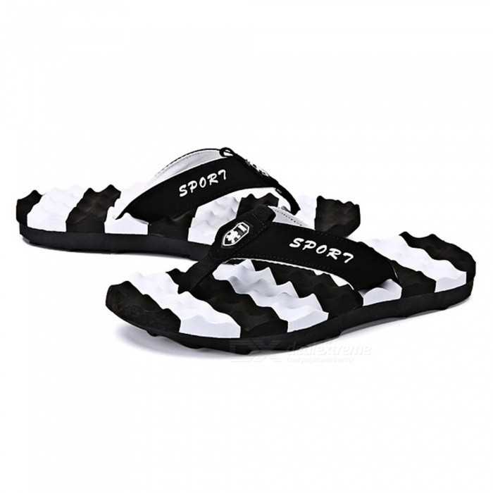 665 Unisex Summer Anti-slip Thong Sandal Flip-Flops - White (#44)Form  ColorWhite + Black + Multi-ColoredSize44Model665Quantity1 DX.PCM.Model.AttributeModel.UnitMaterialEVAShade Of ColorWhiteGenderUnisexLiningEVAMidsoleEVAOutsoleEVASuitable forAdultsBest UseFamily &amp; car campingPacking List1 x Flip Flops<br>