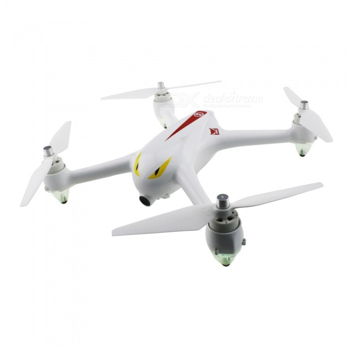 MJXR/C Bugs 2 B2C Brushless RC Quadcopter with GPS, Camera - WhiteR/C Airplanes&amp;Quadcopters<br>Form  ColorWhiteModelB2CMaterialABSQuantity1 DX.PCM.Model.AttributeModel.UnitShade Of ColorWhiteGyroscopeYesChannels Quanlity4 DX.PCM.Model.AttributeModel.UnitFunctionUp,Down,Left,Right,Forward,Backward,Stop,Hovering,Sideward flightRemote TypeRadio ControlRemote control frequency2.4GHzRemote Control Range800-1000 DX.PCM.Model.AttributeModel.UnitSuitable Age 13-24 months,Grown upsCameraYesCamera PixelOthers,HD 1080PLamp YesBattery TypeLi-ion batteryBattery Capacity1800 DX.PCM.Model.AttributeModel.UnitCharging Time300 DX.PCM.Model.AttributeModel.UnitWorking Time16 DX.PCM.Model.AttributeModel.UnitRemote Controller Battery TypeAARemote Controller Battery Number4 x 1.5V AA battery (not included)Remote Control TypeWirelessModelMode 2 (Left Throttle Hand)CertificationCEPacking List1 x MJX Bugs 2 RC Quadcopter (With 1080P HD Camera)1 x Transmitter1 x 7.4V 25C 1800mAh LiPo Battery2 x Propeller Sets (4 X CW 4 X CCW)1 x Propeller fixing mount1 x Screwdriver1 x Charger1 x English Manual<br>