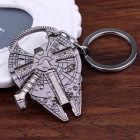 Star Wars Millennium Falcon Spacecraft Shaped Bottle Opener Keychain