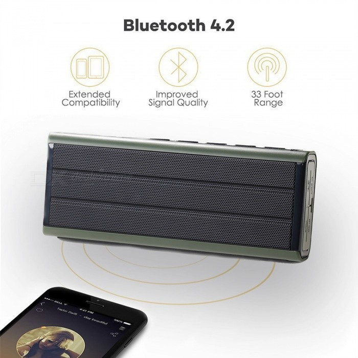 Voděodolný Bluetooth reproduktor s bleskem, Power Bank
