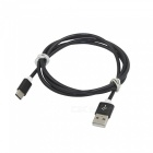 3.4A Stainless Steel Spring USB 3.1 Type-C Fast Charging Data Cable