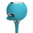 Novelty Portable Mini Bluetooth 4.1 Speaker for Outdoor Sports - Blue