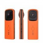 Handheld Wi-Fi 360 Degree VR Camera with Dual Lens - Orange
