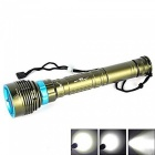 Portable Large Power Super Bright Waterproof 26650 18650 Diving Flashlight
