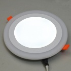 JIAWEN Forme ronde 6W 3-mode LED Downlight lambris luminaire (AC 85-265V)
