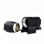 P05 2-Mode Pistol Handgun Torch Light, LED Tactical Gun Lampe de poche