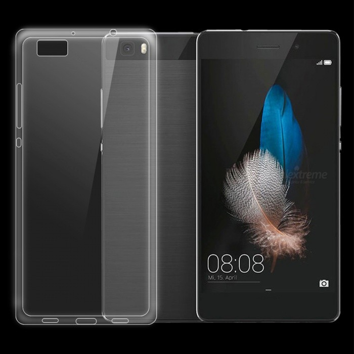 Dayspirit Ultra-Thin TPU Back Cover Case for HUAWEI P8 LiteTPU Cases<br>Form  ColorTransparentModelN/AMaterialTPUQuantity1 pieceShade Of ColorTransparentCompatible ModelsHUAWEI P8 LitePacking List1 x Case<br>