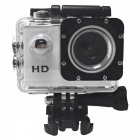 "HD 720P 2"" LCD Mini DV Action Sport Camera with 16GB Memory - White"