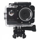 "HD 720P 2"" LCD Mini DV Action Sport Camera with 16GB Memory - Black"
