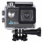 "2.0"" LCD Screen, Waterproof 30m, 170 Degree Wide-Lens, Support Image Rotation, Time Watermark"