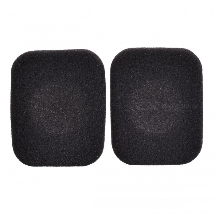Soft Sponge Headphone Sleeves - Black (1 Pair)Headphone Accessories<br>Form  ColorBlackModelN/AMaterialSpongeQuantity2 DX.PCM.Model.AttributeModel.UnitShade Of ColorBlackPacking List1 Pair x Headphone Sleeves<br>