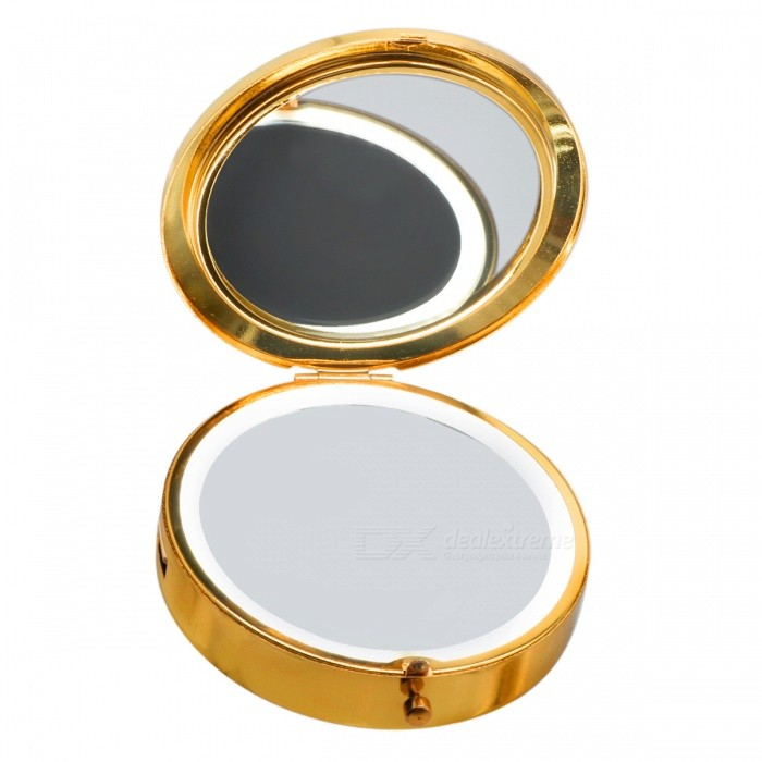 ywxlight portable circular led maquillage miroir power. Black Bedroom Furniture Sets. Home Design Ideas