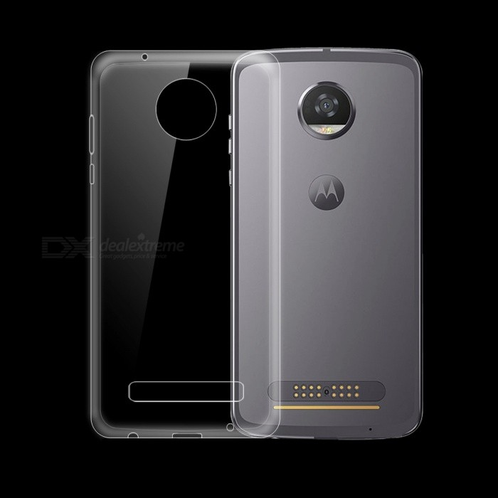Dayspirit Ultra-Thin TPU Back Cover Case for Motorola MOTO Z2 Play