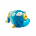 Cute Bubble Fish Shape Manual Pencil Sharpener (Random Color)