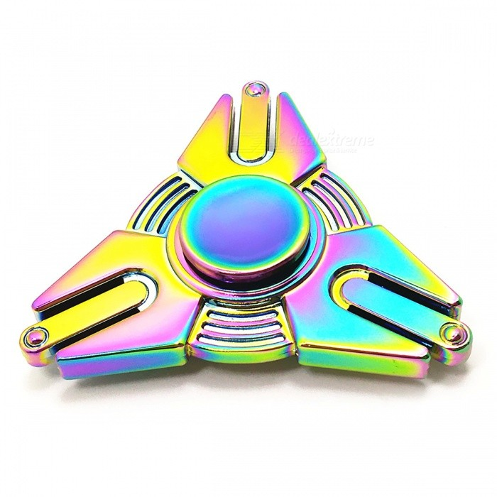 Zinc Alloy Transfomers Fidget Spinner EDC ADHD Focus Toy - Colourful