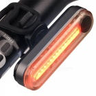 Kitbon 6-Mode 15-LED USB Charging Red Light Bike Safety Tail Lamp