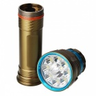 SPO L2 9-LED 3-Mode Super Bright Tauch-Taschenlampe - Army Green