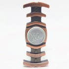 Buy Zinc Alloy Fishbone Stress Relief Fidget Spinner Toy - Red Copper