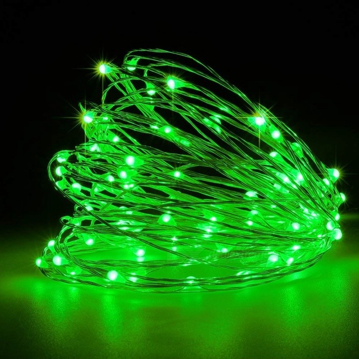 Diy Wire String Lights : YouOKLight USB 10m Waterproof Green Light Silver Wire DIY String Light - Free Shipping - DealExtreme