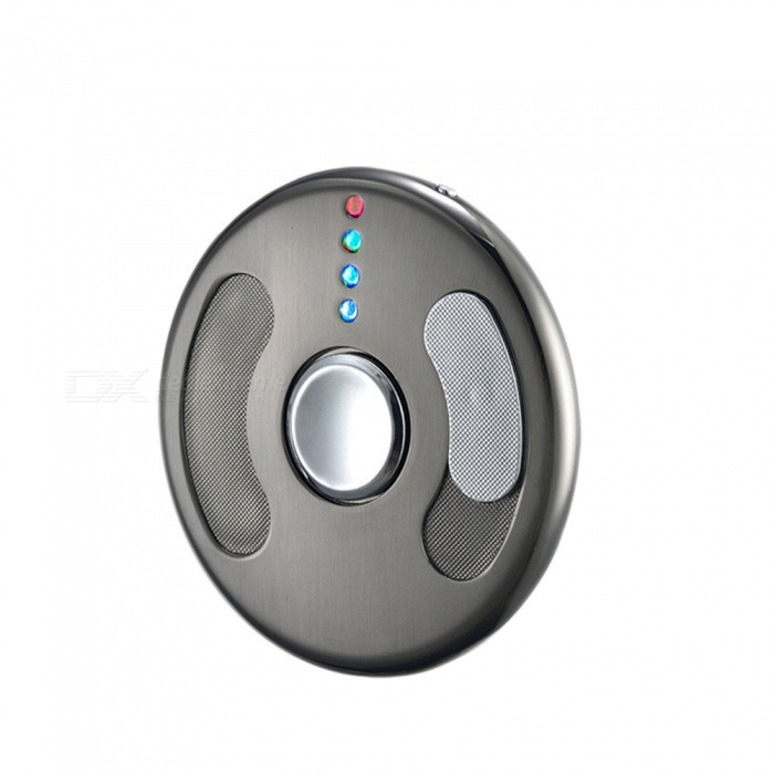 ZHAOYAO USB Charging Flying Disc Style Hand Spinner Lighter - BlackOther Lighters<br>Form  ColorBlackMaterialZinc alloyQuantity1 DX.PCM.Model.AttributeModel.UnitShade Of ColorBlackTypeUSBWindproofYesPower SupplyLithium batteryCharging Time1-2 DX.PCM.Model.AttributeModel.UnitPacking List1 x Lighter Gyro1 x Data Cable<br>