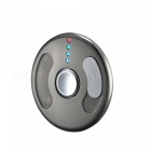 ZHAOYAO USB Charging Flying Disc Style Hand Spinner Lighter - Black