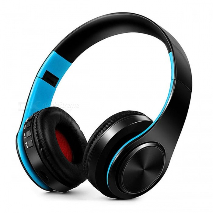 Bluetooth Wireless Stereo Sport Headphone with Mic - Black, BlueHeadphones<br>Form  ColorBlack + BlueBrandOthers,N/AMaterialPlasticQuantity1 DX.PCM.Model.AttributeModel.UnitConnectionBluetoothBluetooth VersionBluetooth V4.0Operating Range10MConnects Two Phones SimultaneouslyYesHeadphone StyleBilateral,HeadbandWaterproof LevelOthers,N/AApplicable ProductsUniversalHeadphone FeaturesPhone Control,Long Time Standby,Noise-Canceling,Volume Control,With Microphone,Portable,For Sports &amp; ExerciseSupport Memory CardYesMemory Card SlotStandard TF CardSupport Apt-XYesSensitivity84dBFrequency Response20-20000HzImpedance32 DX.PCM.Model.AttributeModel.UnitBattery TypeLi-ion batteryBuilt-in Battery Capacity 400 DX.PCM.Model.AttributeModel.UnitStandby Time250 DX.PCM.Model.AttributeModel.UnitTalk Time10 DX.PCM.Model.AttributeModel.UnitPacking List1 x Headphone<br>