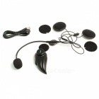 Bluetooth 3.0 Motorradhelm Gegensprechanlage Headset