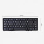 Magnetische Tri-Folding Slim Bluetooth Tastatur für IOS Android Windows