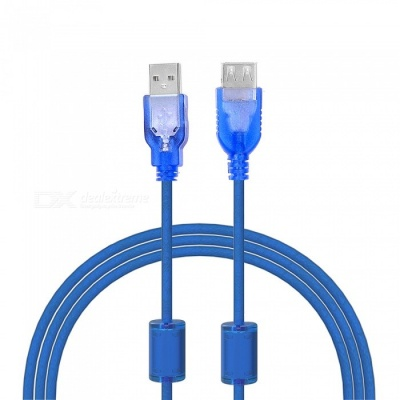 USB 2.0 Male to Female Extension Cable - Blue (120cm)