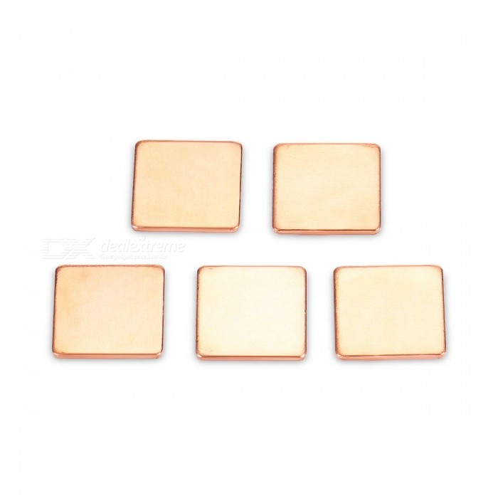 DIY 15x15x12mm Copper Thermal Conductive Pads (5 PCS)