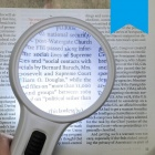 OJADE Global-s10X 75mm 10X Handheld Double Lens Reading Magnifier