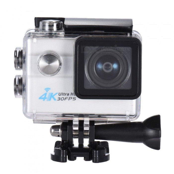 "32GB 2"" Ultra HD 4K 1080P 16MP 4X Zoom Wi-Fi Sport Camera - White"