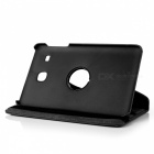 Dayspirit 360° Rotatable PU Case w/ Stand for Samsung T377 - Black