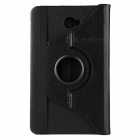 Dayspirit 360° Rotatable PU Case w/ Stand for Samsung T580 - Black