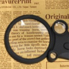 OJADE 2.5X 25X 55X Illumination Magnifying Magnifier for Book Reading