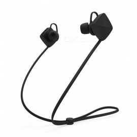 M3 Sports Wireless Bluetooth In-Ear Earphone with Mic - Black