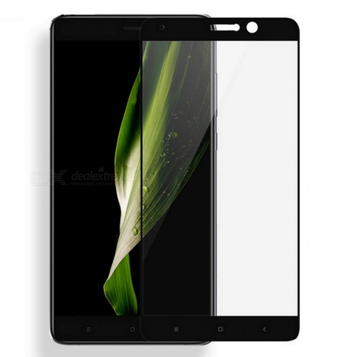 Naxtop Tempered Glass Screen Protector for Xiaomi Mi 5S Plus -Black