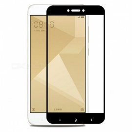 Naxtop Tempered Glass Screen Protector for Xiaomi Redmi 4X - Black