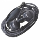 S8 3.5mm Wired In-Ear Earphone with Microphone - Black