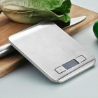 5Kg x 1g LCD Digital Kitchen Scale - Silver