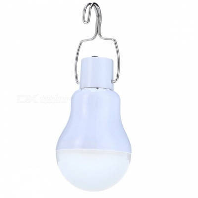 15W 130LM Portable Solar Powered LED Bulb Light Lamp