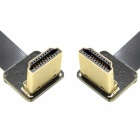 CY HD-206-DN-0.5M FPV Dual HDMI Type A Male HDTV FPC Flat Cable (50cm)
