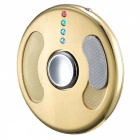ZHAOYAO USB Charging Flying Disc Style Hand Spinner Lighter - Golden