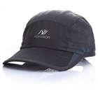 Outdoor Unisex General Sunscreen Quick Drying Sun Hat - Dark Gray