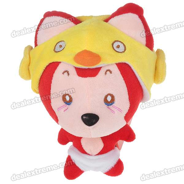 Cute Ali Fox Figure Soft Plush Doll (20*16cm)